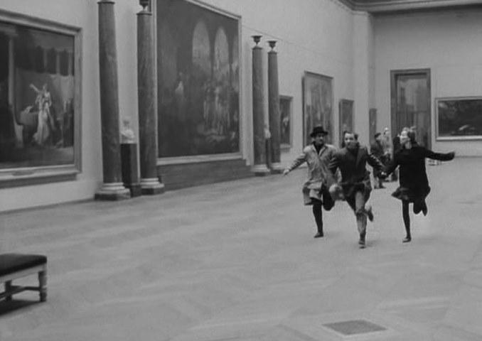 Bande A Part - Louvre scene