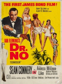 Dr. No film poster